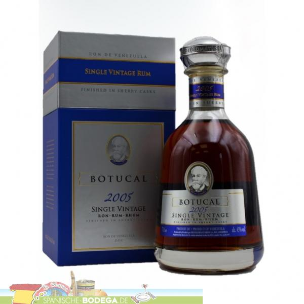 Botucal Single Vintage 2004  - 700 ml
