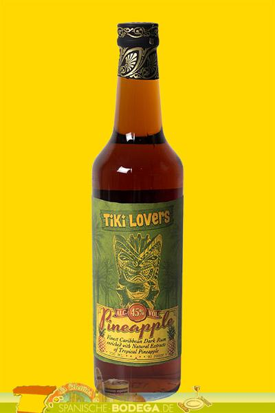 Tiki Lovers Pineapple Rum 45% Vol. 70cl.