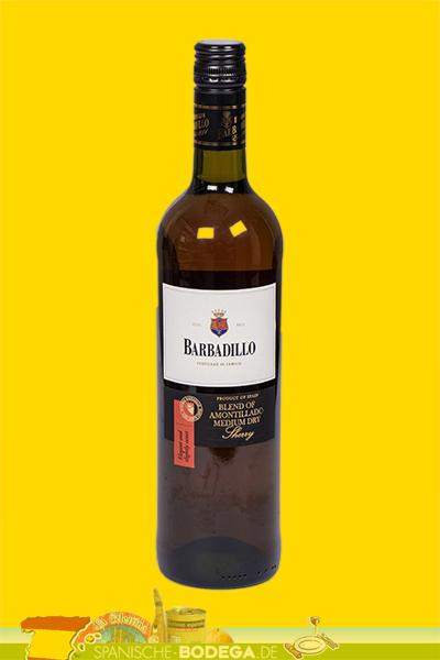 Barbadillo Blend of Amontillado Medium Dry Sherry 17,5% Vol.