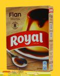 Flan  vom Royal Caramelpudding  8 Portionen